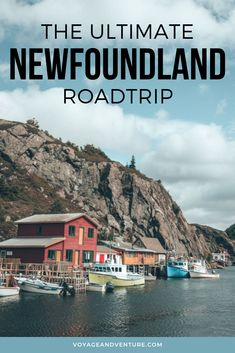 May 2020 - Ultimate 1 Week Newfoundland Itinerary - Voyage & Venture Pvt Canada, Visit Canada, Newfoundland Canada, Newfoundland And Labrador, Canadian Travel, Canadian Rockies, East Coast Road Trip, Road Trip Destinations, Travel Aesthetic