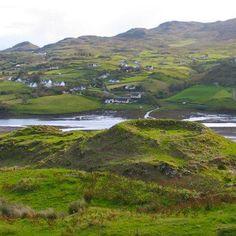 A Ringfort near Teelin in County Donegal, Ireland :)