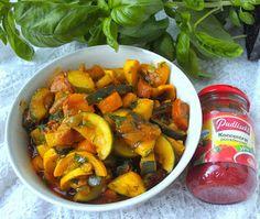 W Mojej Kuchni Lubię..: pyszny cukiniowy gulasz czyli Pudliszki – pomidoro...