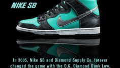 best website 64379 19648 Diamond Supply Co. x Nike SB Dunk Hi