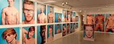 Holy crap! It's an ART EXHIBIT dedicated to hot ginger men. (See? I'm not the only fan.) Best part: you can oogle them, but it only makes you, like, cultural, people!