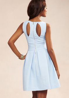 TAYLOR Sleeveless Dress with Pleated Skirt