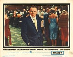 Lobby Card from the film Oceans 11