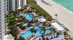 Trump International Beach Resort Sunny Isles Beach This oceanfront resort, situated on the beaches of Sunny Isles, is 10 minutes' drive to Aventura Mall. It boasts private beach access, a luxury spa, a gourmet restaurant, and rooms with views.