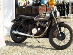 Yamaha Sr 250 Caferacer | @SingleFin_