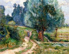 Banks of the Orge, Morning - Armand Guillaumin - The Athenaeum
