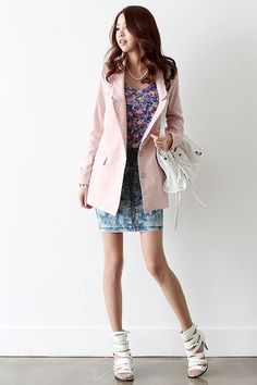 We introduce you a new modern vintage♥ hARU style will turn your ordinary days… Cute Asian Fashion, Japanese Fashion, Modern Fashion, Fashion Design, Fashion Styles, Korean Fashion Online, Kpop Fashion, Fashion Outfits, Womens Fashion