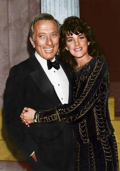 Andy with his daughter. Polly Bergen, Legend Singer, Andy Williams, Old Music, Easy Listening, Music Icon, Old Tv, American Singers, Old Hollywood
