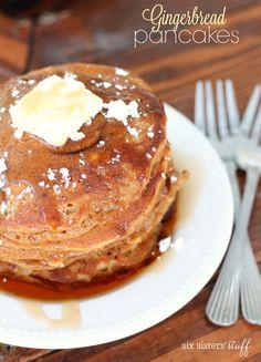 Gingerbread Pancakes – Six Sisters' Stuff