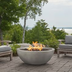 Shop for Alta Large Natural Gas Fire Bowl in Fog by Jensen Co - 42 x 42 x Get free delivery On EVERYTHING* Overstock - Your Online Garden & Patio Outlet Store! Propane Fire Bowl, Propane Tank Cover, Types Of Fire, Square Fire Pit, Fire Table, Fire Bowls, Wooden Decks, Gas Fires, Fire Pit Backyard
