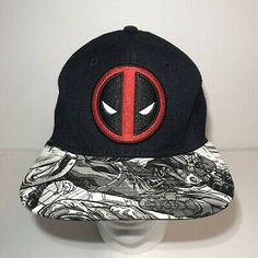 Marvel Wolverine  FULL FACE     One Size Fits Boys Hat   NWT