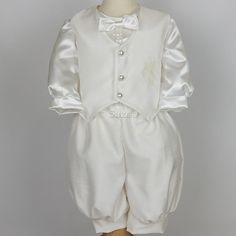 Modern+Baptism+Outfits+for+Boys | Ivory Baby Boys Christening Outfits Q9a