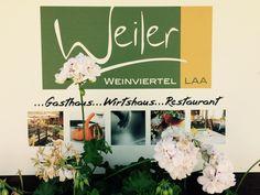 LiebDing - das Gasthaus Weiler in Laa Brunch, Shops, Lokal, Restaurant, Home Decor, Ideas, Tents, Restaurants, Interior Design