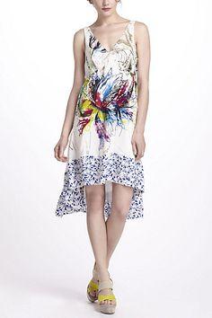 Prismatic Winds Dress - Anthropologie.com. Very versatile.