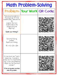 QR codes for math!