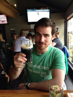 Everyone loves an Irish boy! ;) Colin O'Donoghue in St. Patrick's day