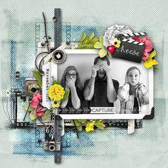 ~~ Smile Please! :-) ~~ NEW by et designs @ SBG http://shop.scrapbookgraphics.com/et-designs/