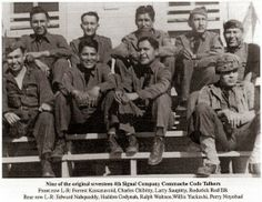 Comanche code talk warriors of WW2