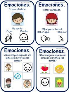 Imagen relacionada Therapy Worksheets, Bible Lessons, Anger Management, Emotional Intelligence, Special Needs, Conte, Kids Education, Psychology, Kindergarten