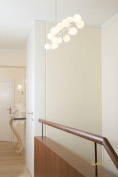 #hallwayideas #luxuryliving #hallwaydesign Hallway Designs, Interior Design Studio, Luxury Living, Elegant, Home, Indirect Lighting, Remodels, Homes, Nest Design