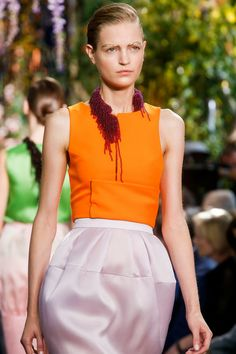 Christian Dior SS14, París Fashion Week