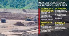 En México aún no es posible saber quiénes son los que se benefician por la extracción de minerales y petróleo, de acuerdo con el Índice de la Gobernanza de los Recursos Naturales