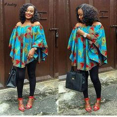 Top Ten Unique Ankara Off Shoulder Styles 2017  Dabonke