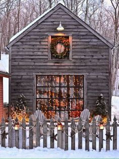 Country Winter and Christmas