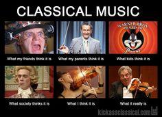 La classica musica. Something like that.
