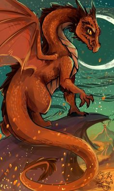 A Dragon by sharpie91 on deviantART