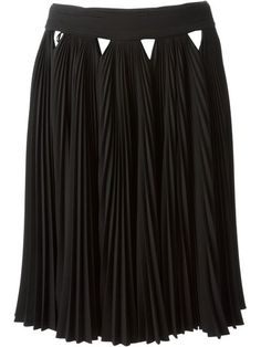 Shop Givenchy pleated a-line skirt in Liska from the world's best independent boutiques at farfetch.com. Over 1000 designers from 60 boutiques in one website.