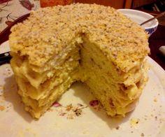 """Napoleon"" cake"