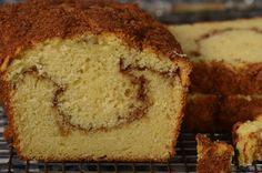 Cinnamon Swirl Coffee Cake - Joyofbaking.com *Video   Recipe*