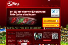 32Red mobile casino is designed to work on all android, iPhone or blackberry devices making this casino one of the best on internet. Sign up now & get 160% first deposit bonus up to £160. Grab the offer now:http://goo.gl/9oj0Ah
