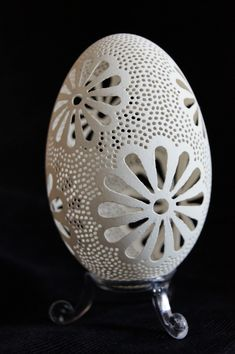 some new carved goose eggs by peregrin71.deviantart.com on @DeviantArt