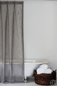 extra long shower curtain grey. Extra Long Grey Fabric Shower CurtainShower Curtains in a Variety of Sizes  Fabrics and Designs Choosing The Best Curtain Check It Out Gray