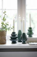 Kähler Design Avvento Kerzenhalter grün