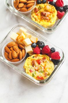 Easy Keto Meal Prep Breakfast - Packed with protein and so convenient for busy m. - Easy Keto Meal Prep Breakfast – Packed with protein and so convenient for busy mornings, this is - Lunch Meal Prep, Healthy Meal Prep, Healthy Breakfast Recipes, Healthy Drinks, Healthy Snacks, Keto Meal, Eat Healthy, Meal Prep For Breakfast, Healthy Breakfast On The Go