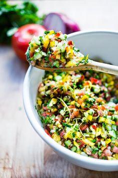 Israeli Salad #recipe