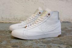 "Nike Dunk CMFT, Blazer LUX & Lunar Force 1 ""White Ostrich"" Pack"