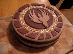 battlestar galactica cake - Google Search