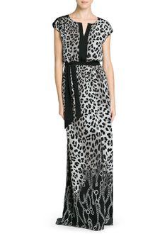 MANGO - PRENDAS - Vestidos - Vestido estampados combinados