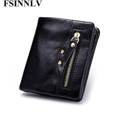 Buy now FSINNLV Genuine Leather Wallet Women Lady Short Wallets Women Purse Female 4 Colors Women Wallet Card Holder Day Clutch DC143 just only $12.79 with free shipping worldwide  #womanwallets Plese click on picture to see our special price for you