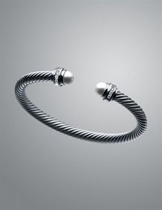 I am forever in love and always have been with this David Yurman bracelet. One day...