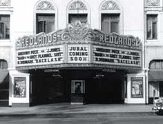 The Historic Fox Theatre, Redlands Ca. This is where I saw The Shining, when it first was in theaters! At the time, the Fox was rundown and spooky, perfect for viewing that film.