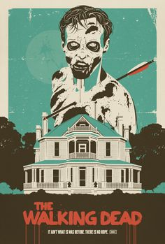 walking dead. classic. want poster. season two. zombie.