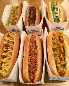 To-do-list: leoni's deli (67, rue d'Argout) a hot-dog place in Paris #foodinparis #HotDog