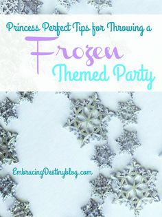 Helpful tips for planning a perfect Disney Frozen themed party for your little…