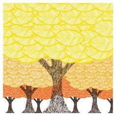 Pattern inspiration: Avalisa Imagination - Forest Stretched Wall Art