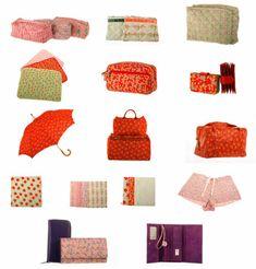 Prodotti con vari pattern disegnati da Maurizia Dova nel 2007 per Federica Naj-Oleari @fno e il suo concept store Mr.N Fantasy